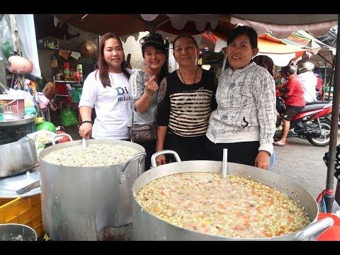Người Sài Gòn nấu cháo dương châu từ thiện siêu ngon, siêu to