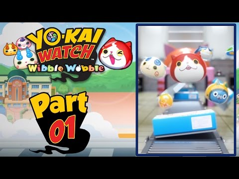 Yo-Kai Watch Wibble Wobble - Part 1   FREE Mobile App for Android and iOS! [English Gameplay]