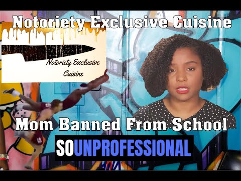 So Unprofessional: Mom Warns Classroom | Kid Has Bags Of Crack | Notoriety Exclusive