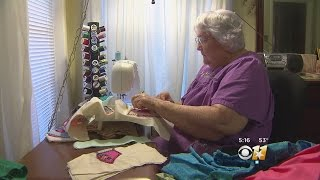 Great Grandmother Makes Dolls For Kids In Hospital
