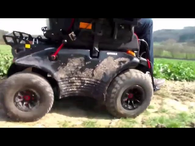 Meyra Optimus RS off road power chair Video