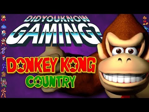 Donkey Kong Country – Did You Know Gaming? Feat. TheCartoonGamer