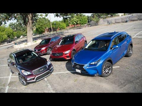 2016 Small Luxury SUV Comparison – Kelley Blue Book