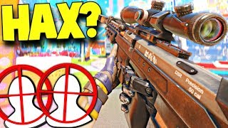 I Have Aimbot Hackslol 😂 Call Of Duty Sniping Amp Funny Moments