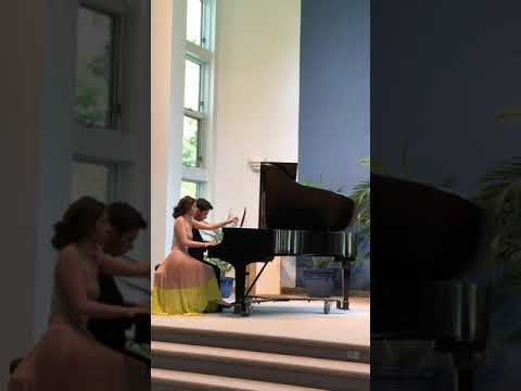 Piano Performance, Duet Libertango in Lincroft New Jersey!