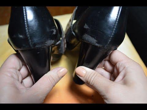 Ремонтируем потертости на обуви