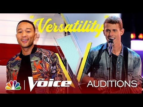 """Jared Herzog sing """"Speechless"""" on The Blind Auditions of The Voice 2019"""