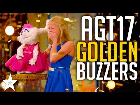 All GOLDEN BUZZERS On America's Got Talent 2017 | Including Darci Lynne, Mandy Harvey & More!