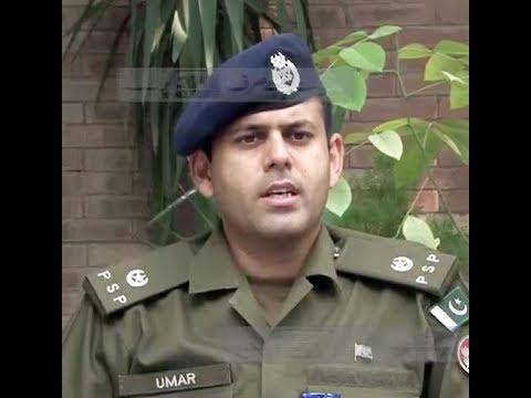 SP Omer Farooq recovers 4 kilos of heroin