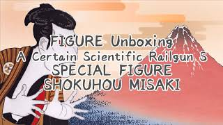 Shokuhou Misaki  - (A Certain Magical Index) - A Certain Scientific Railgun S SHOKUHOU MISAKI Unboxing Japan Figure #58