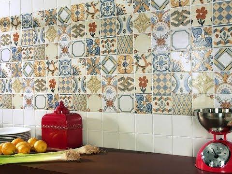 ПЛИТКА в стиле ПЭЧВОРК для кухни и ванной. Комбинации и варианты применения