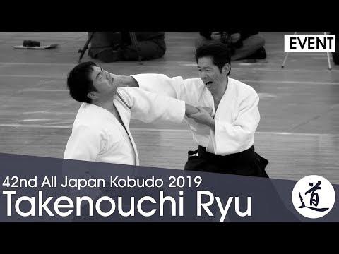 Takenouchi Ryu Jujutsu Koshinomawari Kogusoku - Takenouchi Tojuro - 42nd All Japan Kobudo Demo