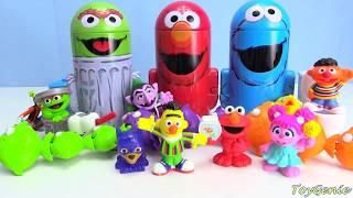 Best Learning Video For Preschool Counting With Sesame Street Elmo and Cookie Monster