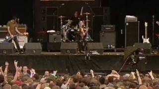 The Distillers No Love Lost Reading Festival 2004 Joy Division Cover