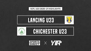 Highlights: Lancing U23 2-4 Chichester City