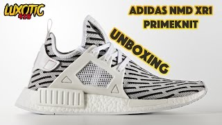 Bananas and Pyjamas Adidas NMD XR1 PRIMEKNIT Cyan Boost Unboxing and Review
