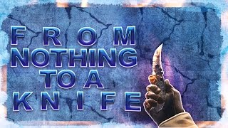 CSGO - From Nothing To A Knife (From a free coins code)