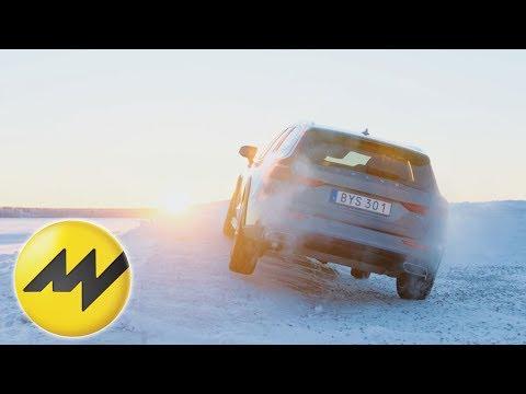 Ist Allrad der beste Antrieb?  Volvo V60 Fahrbericht auf Schnee   Motorvision