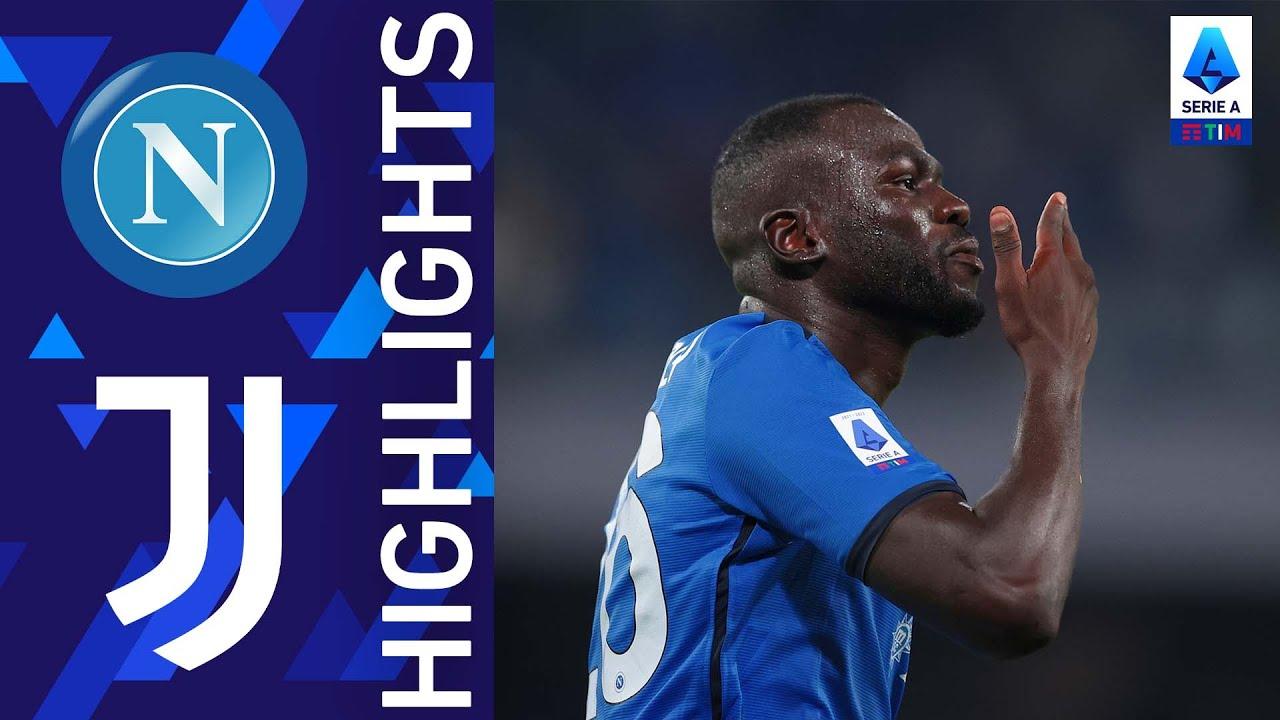 Napoli 2-1 Juventus | Koulibaly decide la sfida con la Juventus! | Serie A TIM 2012/22