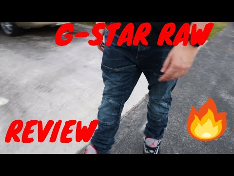 G-Star Raw denim review