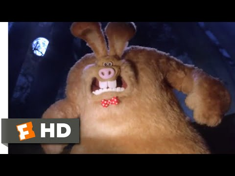 Wallace & Gromit: The Curse of the Were-Rabbit (2005) - Wallace Transforms Scene (5/10) | Movieclips