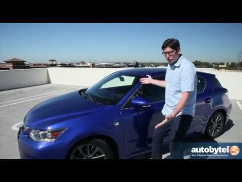 2013 Lexus CT 200h F-Sport Video