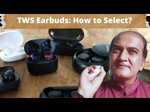TWS earbuds  buying Guide