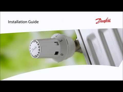 Danfoss - Installation Fühlerelement RAW