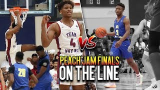 Jalen Green & Zion Harmon BATTLE for a Spot In PEACH JAM CHAMPIONSHIP!! Team WHY NOT v Boo Williams