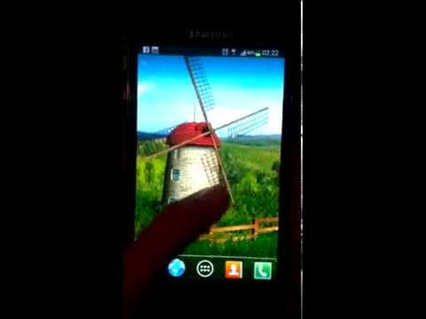 Video of Beautiful Windmill LWP free