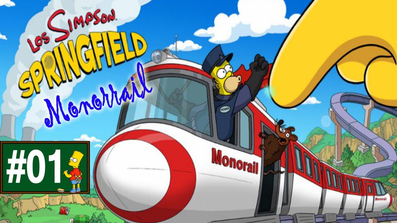 Ver Los Simpson Springfield «Capítulo 1 – Evento: Monorrail» por Tony en Español Online