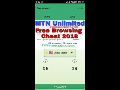 Download MTN Unlimited Free Browsing Cheat - November and