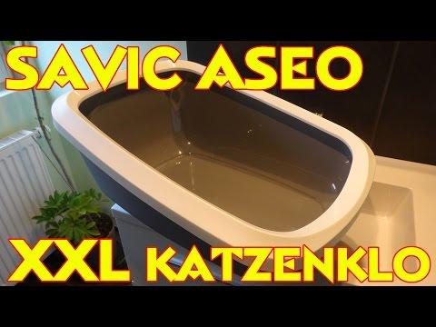 """SAVIC KATZENKLO / KATZENTOILETTE ASEO XXL"" -Vorstellung"