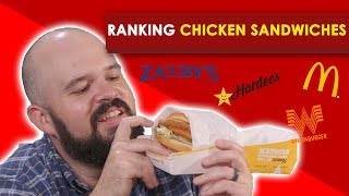 Best Fast Food Chicken Sandwiches--Bless Your Rank