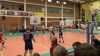 """Волейбол суперлига.  Разминка.  Нападающий удар  """"Белогорье"""" Белгород"""
