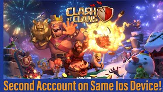How To Have Multiple Clash Of Clans Accounts On IOS!!
