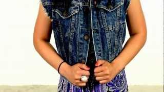 How To Style Denim Vest 3 Different Ways