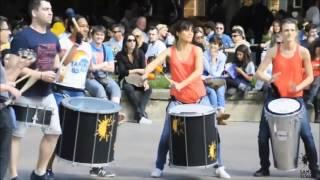 Flashmob Samba Teaser - Festival des 25 ans de Samba Résille 24 et 25 juin 2017