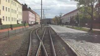preview picture of video 'Die Straßenbahn in Halberstadt (23.09.2011)'