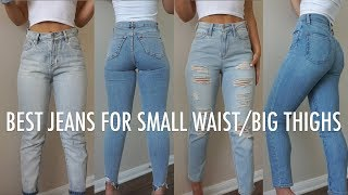 MY TOP 5 JEAN RECOMMENDATIONS | Try On & Review