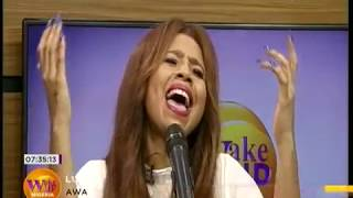 Life Performance By Lungi Naidoo  |  Wake Up Nigeria 4th April 2018