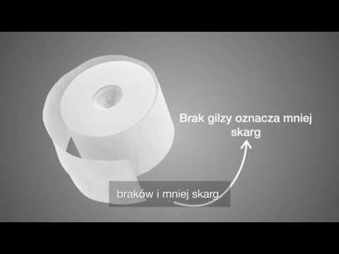 Tork midsize papier toaletowy bez gilzy T7