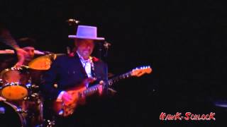 Bob Dylan and his Band - Beyond Here Lies Nothin' live 2011 Tucson, AZ
