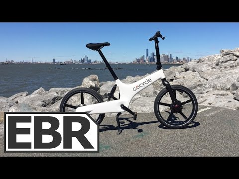 Gocycle G3 Video Review – High-Tech Folding Electric Bike