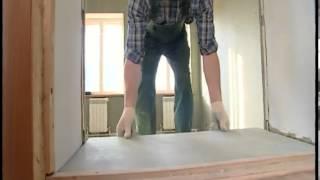 Выравнивание стен строительными плитами QuickDeck