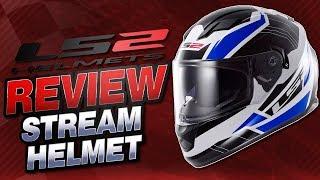 LS2 Stream Helmet Review From Sportbiketrackgear.com