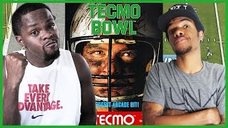 ONE OF THE FIRST FOOTBALL GAMES EVER! - #ThrowbackThursday   Tecmo Bowl Gameplay