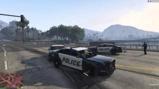 GTA V [Downtown Police Chase] PC-HD