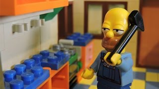 """Let's Repair"" Lego Simpsons Animation"