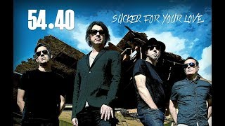 54•40 - Sucker For Your Love - Official Lyric Video